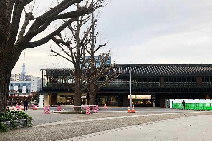 新上野公園改札